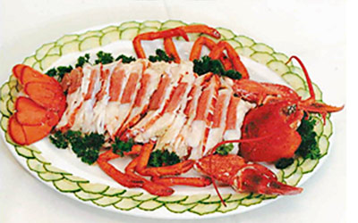 Dining-Lobster Soup